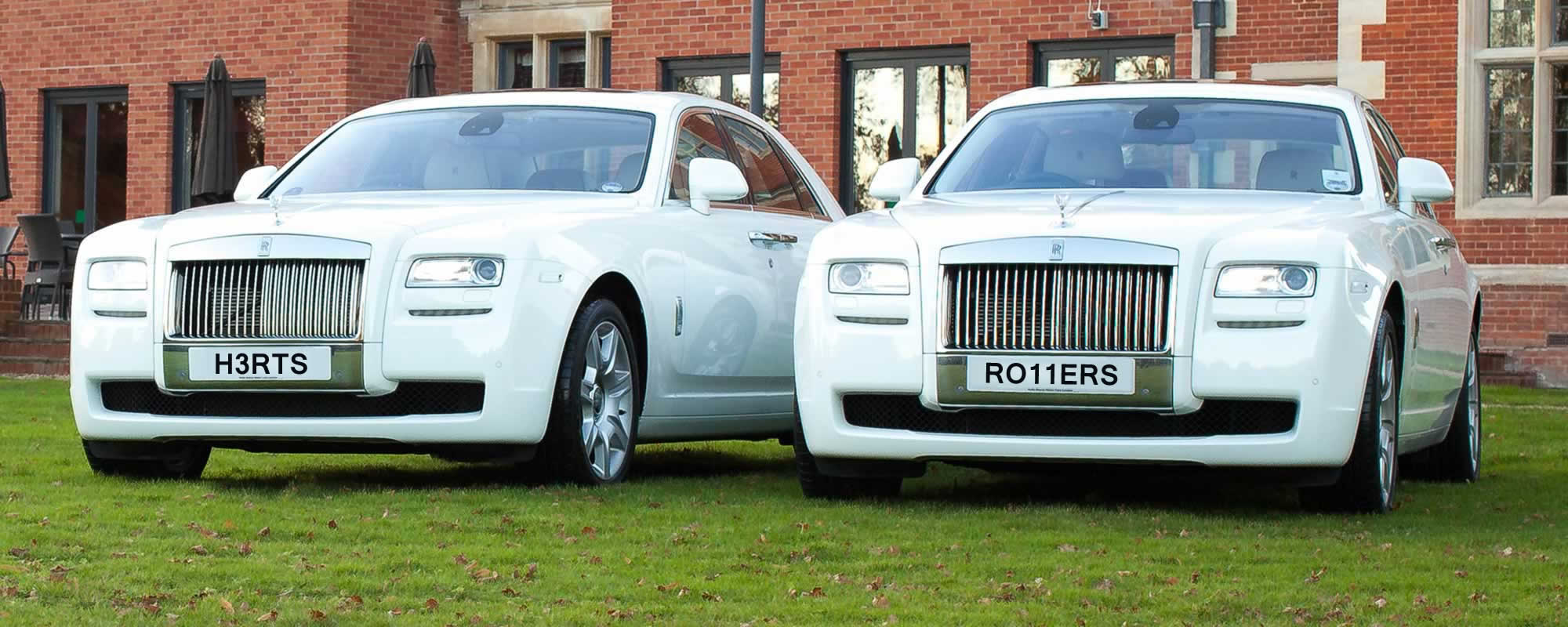 white Rolls Royce Ghost Hire London