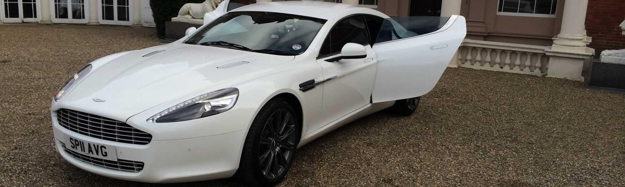Aston Martin hire London