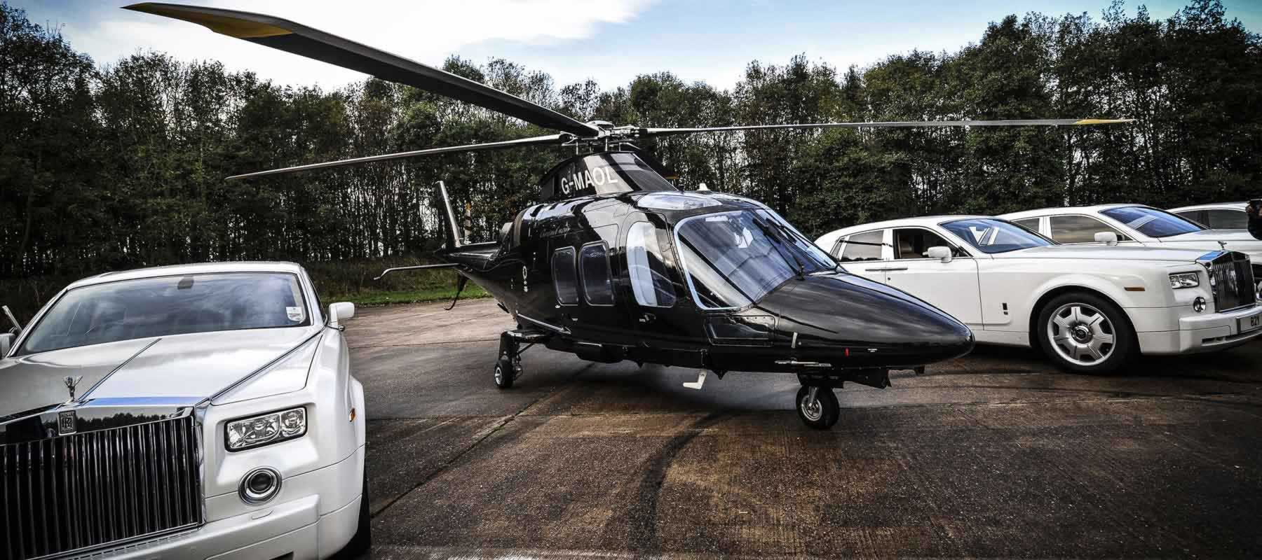 London helicopter hire